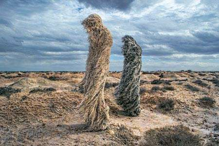 Polixeni Papapetrou, Study for the Hattah Man and the Hattah Woman, 2013