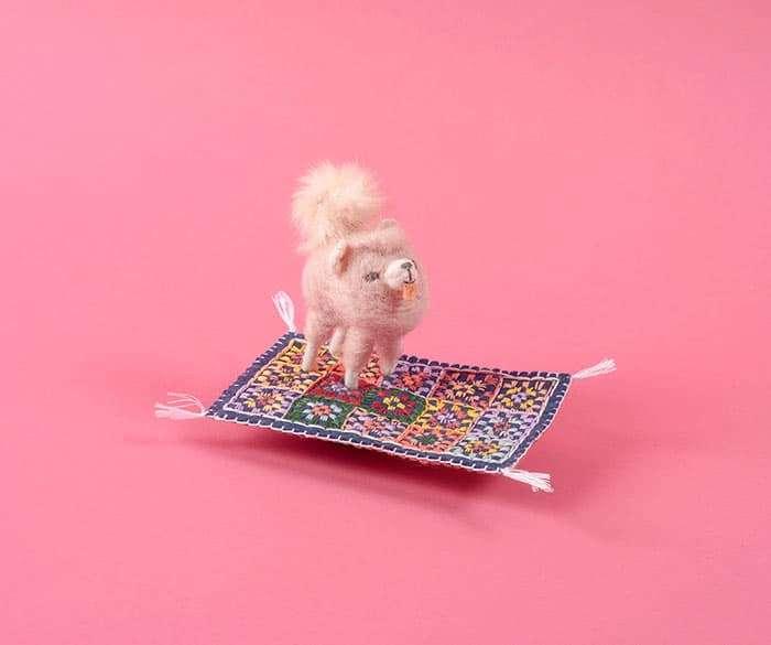 Flying Dog, by Cat Rabbit