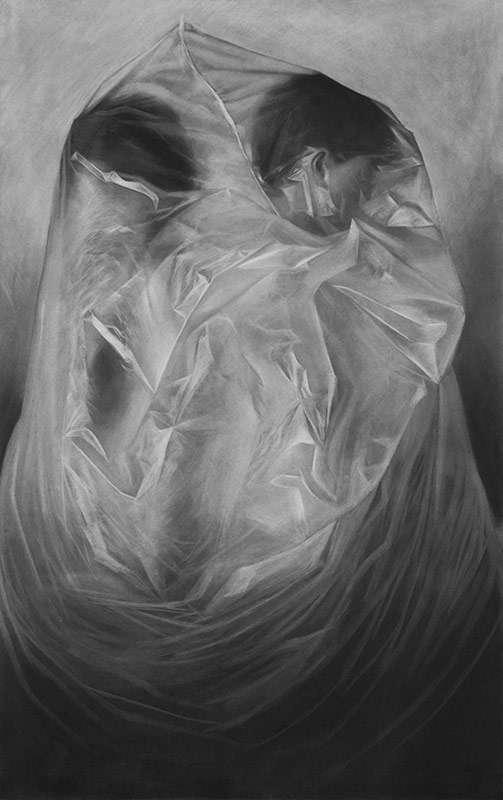 Erika Gofton, Open Secret, oil on linen
