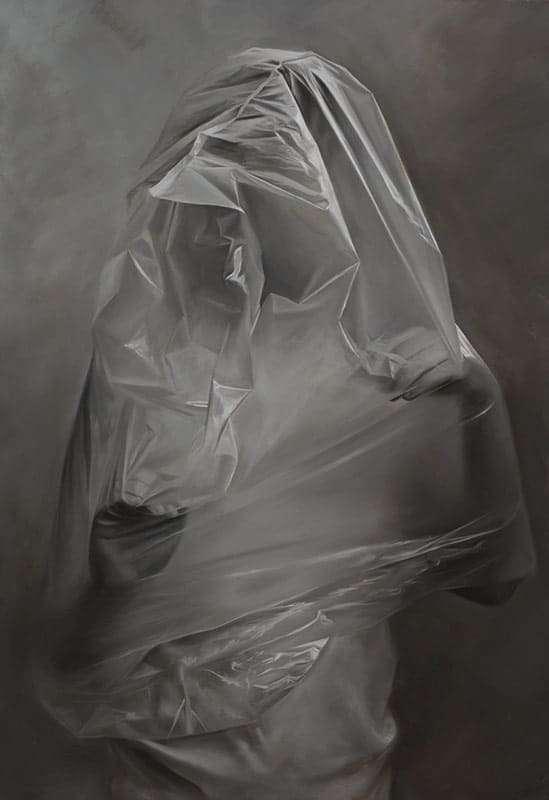 Erika Gofton,Threshold, oil on linen