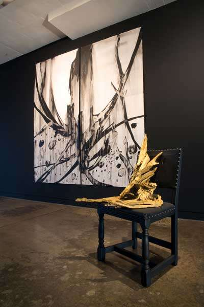 Kirstin Berg, Tragedy's Cathedral, installation view.