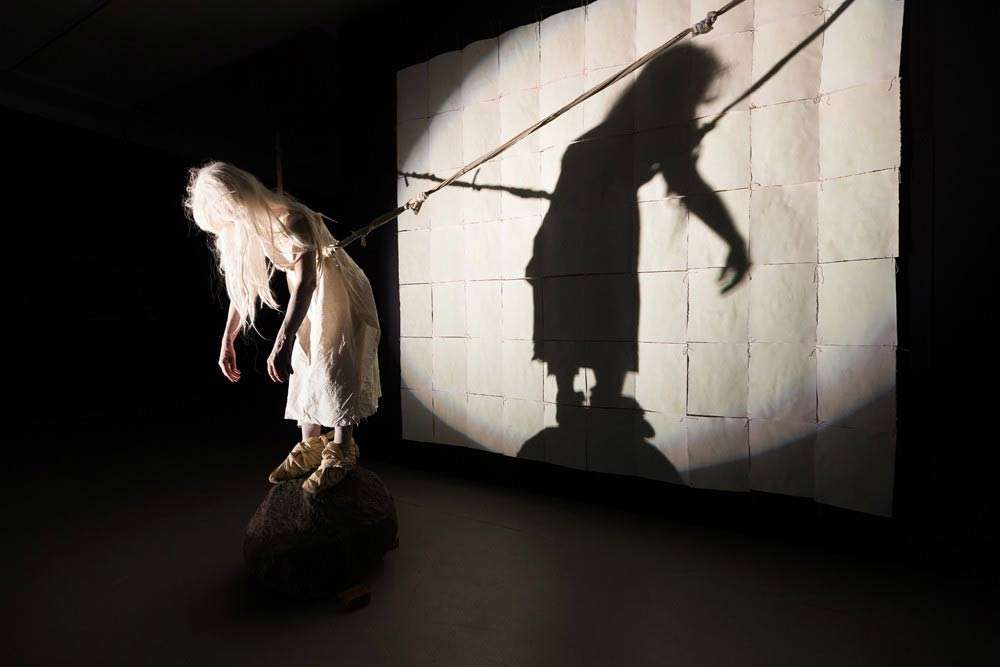 Jill Orr, Trilogy, performance & videos for Performance, Presence, Video Time, curated by Anne Marsh, Australian Experimental Art Foundation, Adelaide.
